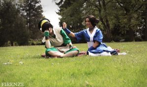 Toph Bei Fong - Don't want flowers in my hair ! by Melonl0rd