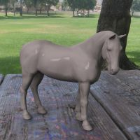 China Horse shader test by JV-Andrew