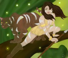 Nidalee by ToxicAngell