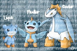 Water Starter 6th gen by farreer