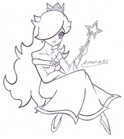 Lovely Rosalina- FREE LINES by Kimeria87