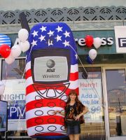 T-Mobile promotion - USA flag phone cover by SOFIAMETALQUEEN