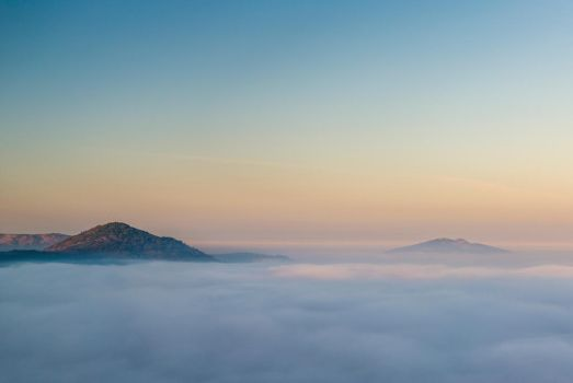 Over the clouds by MarcosRodriguez