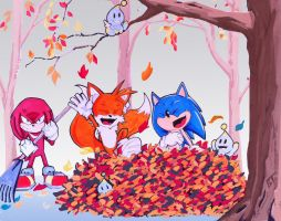 Fall Time Fun by Vauz