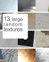13 large random textures by Kiho-chan
