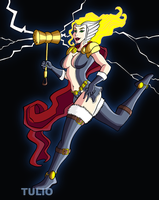 Thor Girl by TULIO19mx