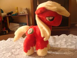 Big Macintosh Plush by Revilynn