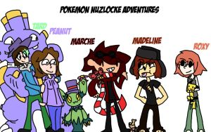 Nuzlocke Heroes! 2013 by Marche-Towers