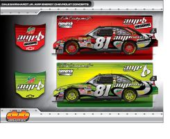 Dale Earnhardt Jr Amp Energy by AiDub