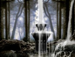 waterfall 1 premade BG  by starscoldnight by StarsColdNight