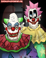 Killer Klowns from Outer Space by Ishida1694