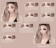 IMVU Eye + Brow Tutorial by tittymilksenpai