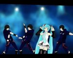 Tank9 and Hatsune Miku by Wunderling