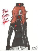 The Nurse Ann *La Enfermera Ann* by OkumuraJaqueline