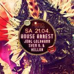 House Arrest Flyer by mellowpt