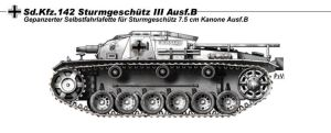 StuG III Ausf B by nicksikh