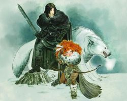 You know nothing, Jon Snow by OlayaValle