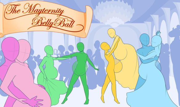 YCH- The Mayternity Belly Ball (CLOSED) by Lilly-moo
