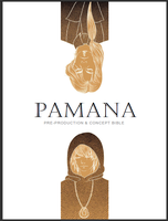 PAMANA Pre-Prod and Concept Bible Cover by kanzeNatsume