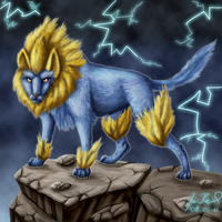 Manectric by Suora91