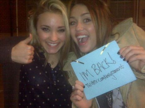 Miley Come Back To Twitter by StyleCyrus