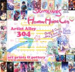 Another Anime Con table 304 by skimlines