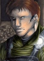 Chris Redfield by TheJenno92