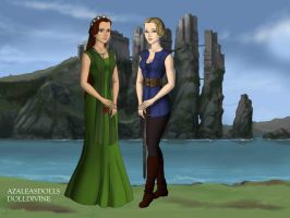 Marilyn and Audrey Game of Thrones by Colleen15