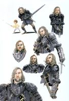 Game of Thrones - Sandor Clegane by eoghankerrigan