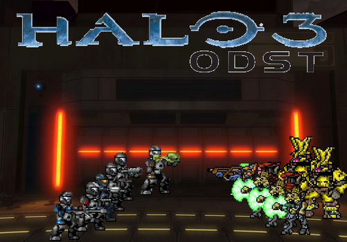 4. Halo 3 ODST by BeeWinter55