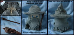 Lord of the Rings: Gandalf the Grey Plush by StitchedAlchemy