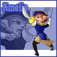 Patch: Captain Amelia by Street-Angel