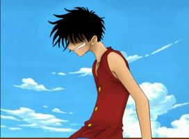Monkey D. Luffy by tiffany42