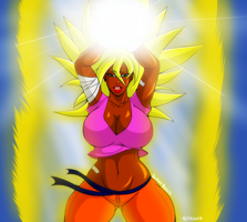 Sexy Super Saiyan by DemonRoyal