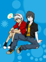 .:Soul Eater:.Soulty and Kenji by Zuki-Fujishima