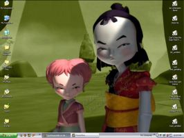 Yumi and Aelita by QuinSeparable