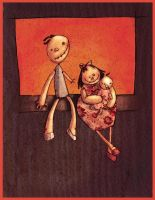 Mr And Mrs Doll by SaintMaria666