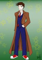 The Tenth Doctor by TheArtgrrl