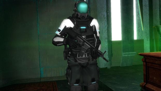 CCA REAPER Unit in a AEGIS Type A-0 Armor by darksavage22