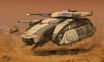 Centurion Tank by PeterPrime