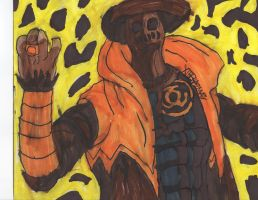 Sinestro Corps Scarecrow again by ChahlesXavier