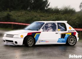 Peugeot 205 rally by sejose