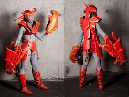 LoL - Shyvana cosplay by kittykat27