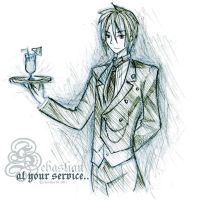 At your service : Sebastian M. by chevalier16