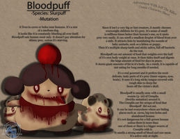 AWJTK Comic Character Sheet - Bloodpuff