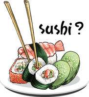 Sushi is good by mayu