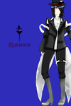 Finished commission: Raven by Catgirl2012