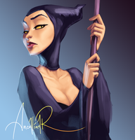 Maleficent by ancalinar