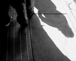 Grates and Shadows by redtrain66