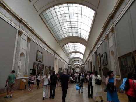 The Louvre is kind of big... by RiverWye